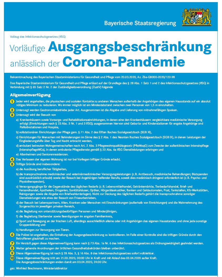 Was Ist Erlaubt Corona Bayern
