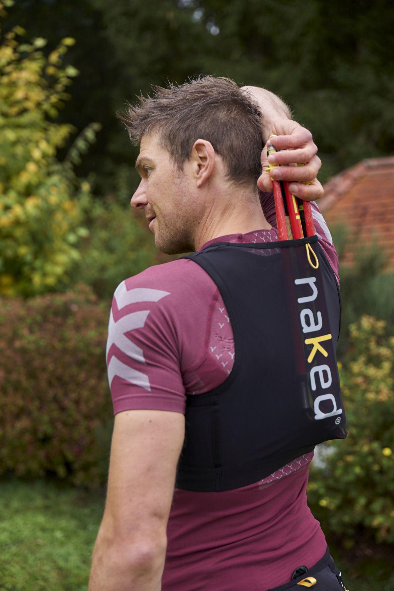 Naked Sports Innovations - Naked Running Vest und Naked